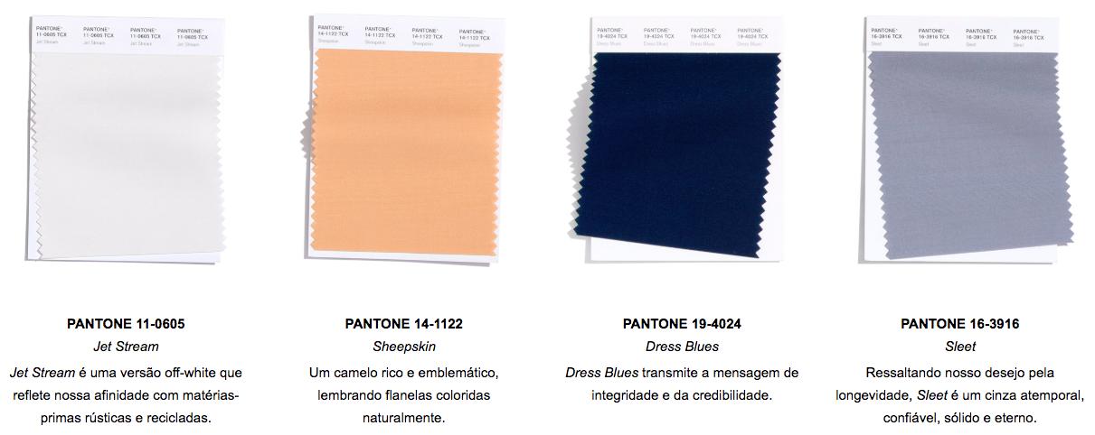 Pantone lança paletas com as cores das passarelas de NY e Londres – Apartamento 203
