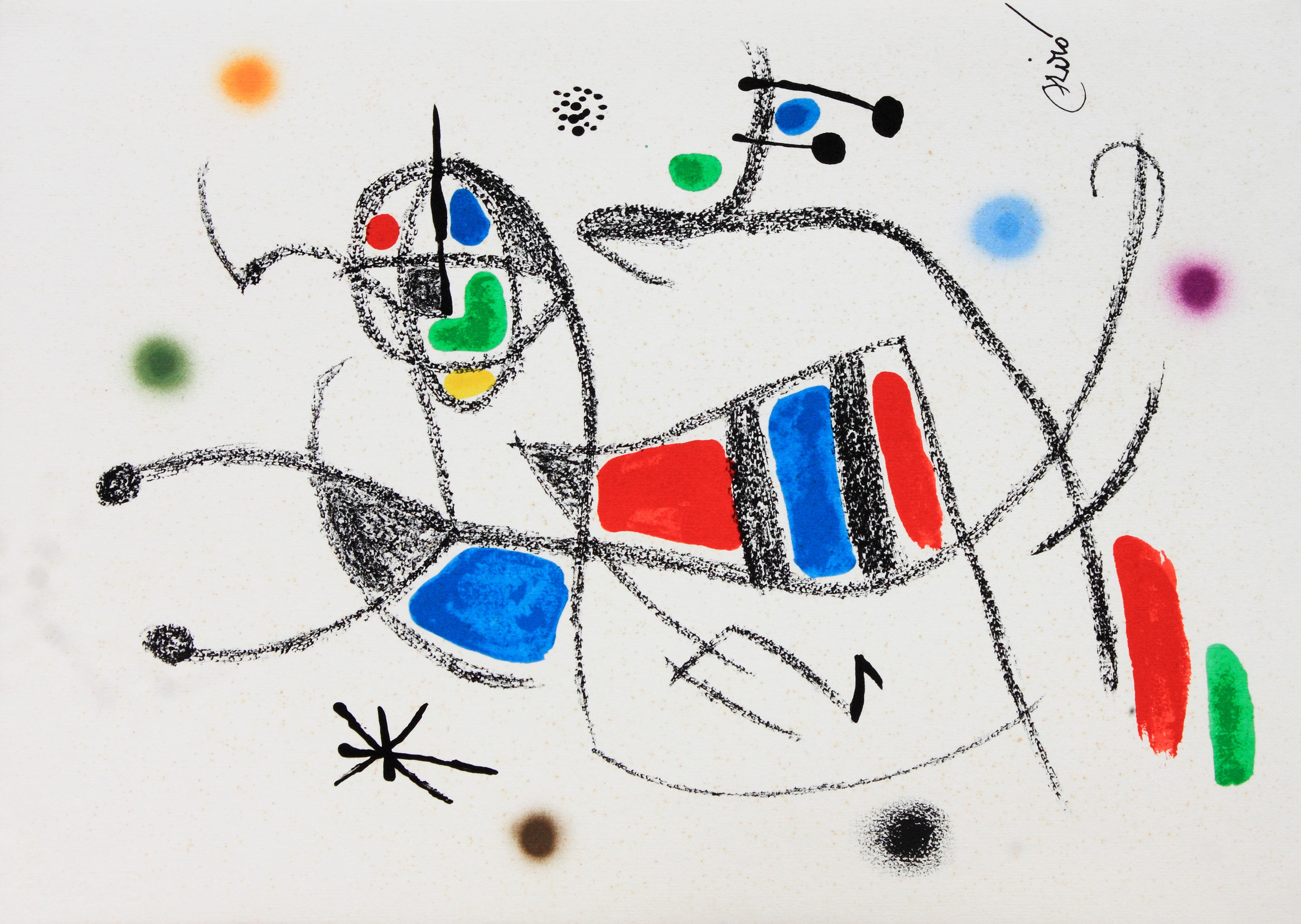 O Jardim das Maravilhas de Miró SP
